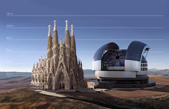 Telescopio Europeo Extremadamente Largo