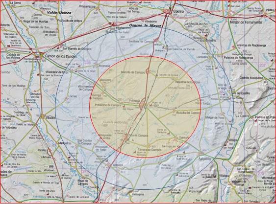 Plano Tierra de Campos