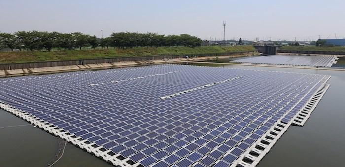 Fotovoltaica en agua