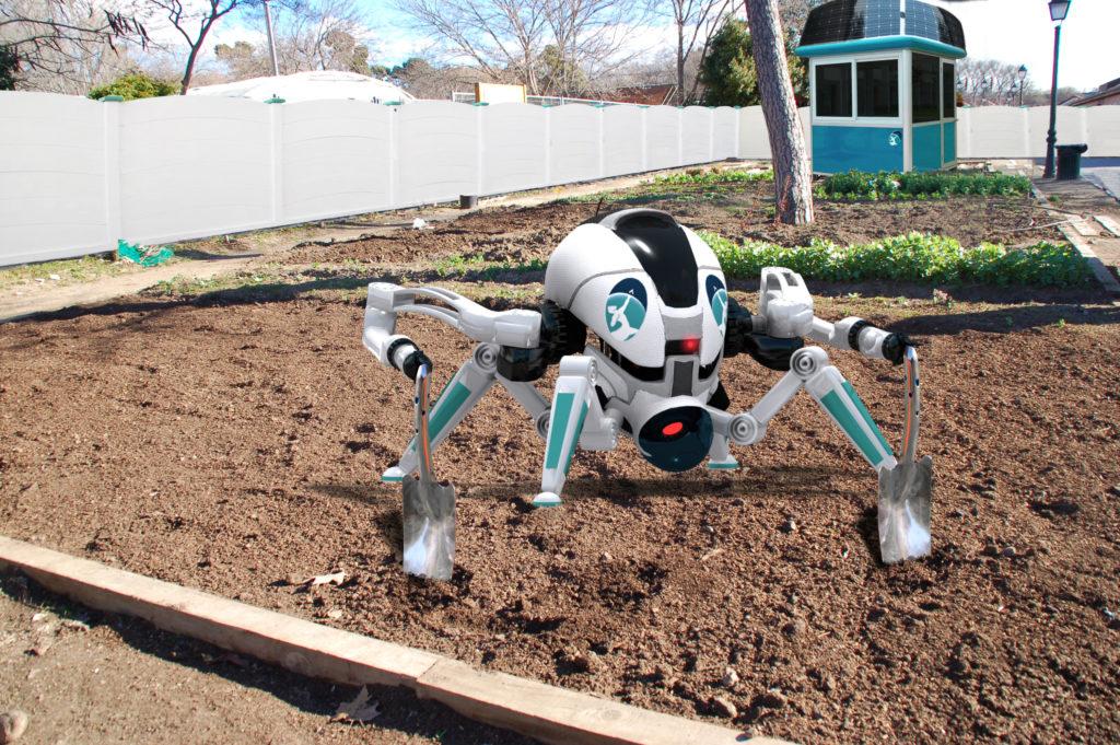 Robot hortelano