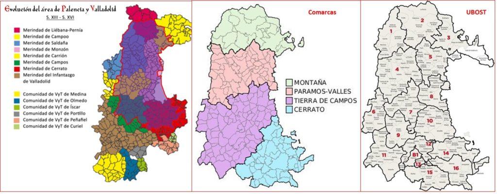 Comarcas Palencia