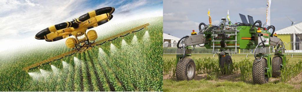 Robot tratamiento agrícola
