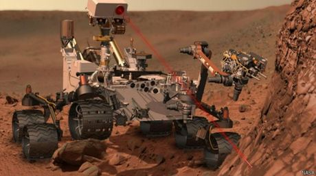 Robot Curiosity NASA