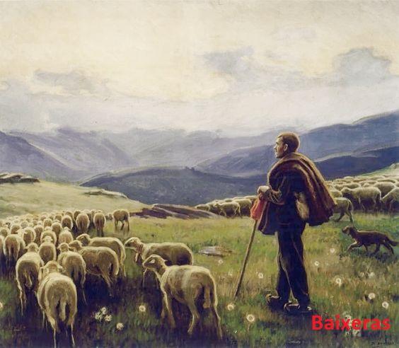 Baixeras - Pastor con ovejas